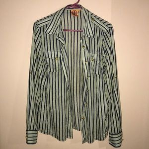Tory Burch button up SZ 12